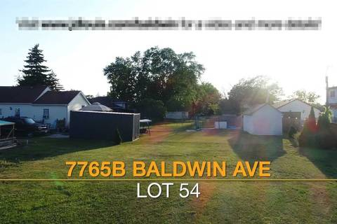 Residential property for sale at 7765 Baldwin Ave Unit Lot 54 Niagara Falls Ontario - MLS: X4684300