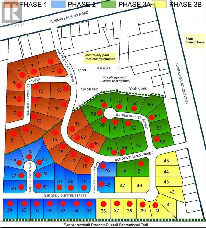 Residential property for sale at  Des Spirees St Unit Lot 55 Clarence-rockland Ontario - MLS: 1160374
