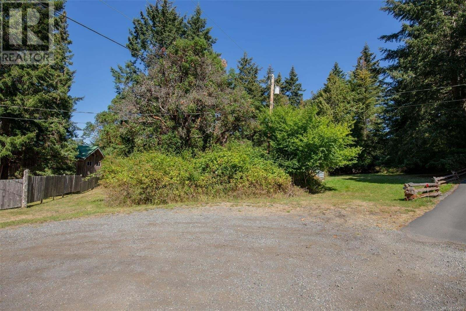 Home for sale at 6 & 7 Sunset Pl Unit LOT Mayne Island British Columbia - MLS: 854889