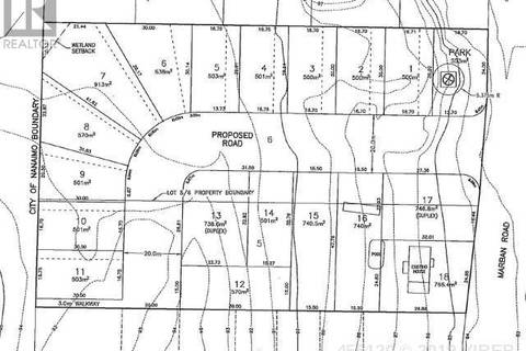 Residential property for sale at  Marban Rd Unit Lot 6 Nanaimo British Columbia - MLS: 455120