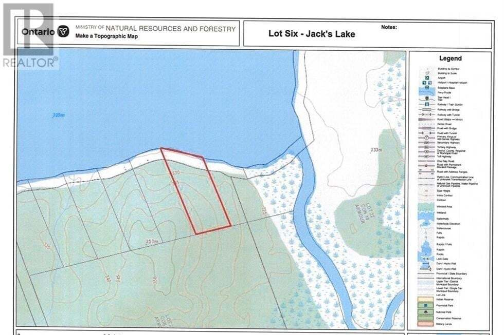 Residential property for sale at 6 Pl42m632 Rd Unit LOT Burk's Falls Ontario - MLS: 276883