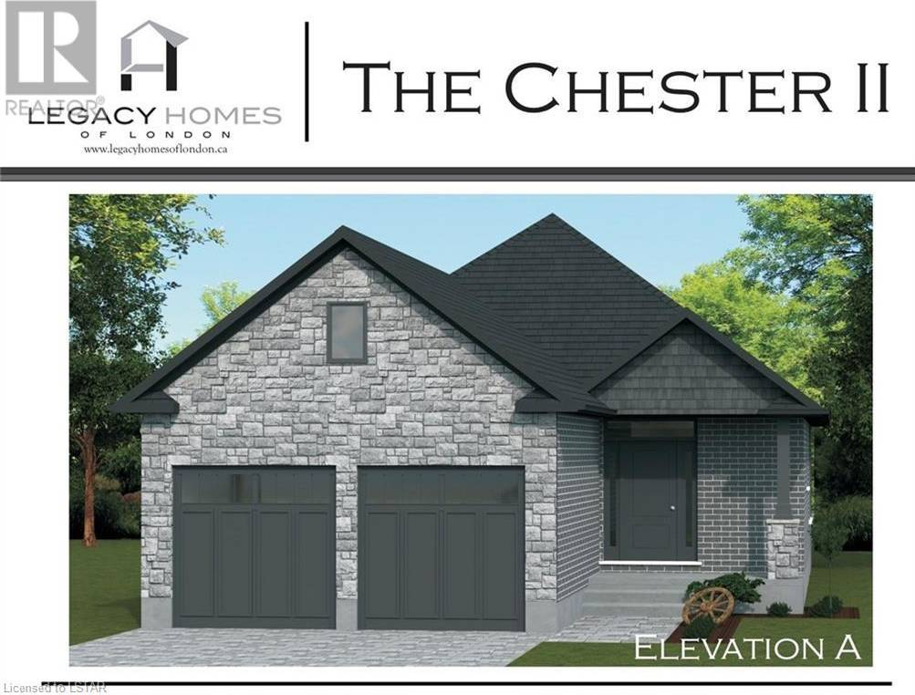 House for sale at  Trailsway Dr Unit Lot 69 London Ontario - MLS: 238626