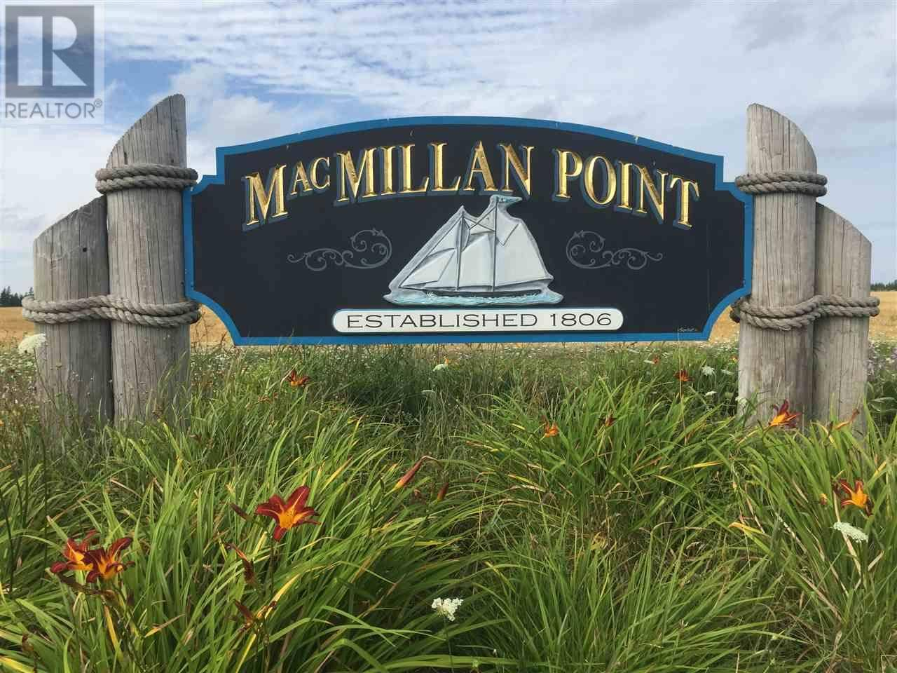 Residential property for sale at  Macmillan Point Rd Unit Lot 6a West Covehead Prince Edward Island - MLS: 202003084