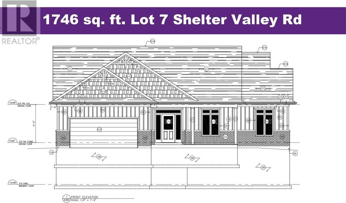 House for sale at  Shelter Valley Rd Unit Lot 7 Grafton Ontario - MLS: 183096