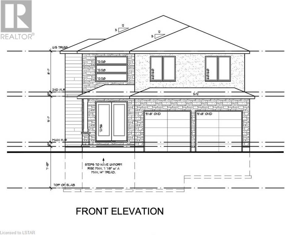 House for sale at  Trailsway Dr Unit Lot 72 London Ontario - MLS: 238568