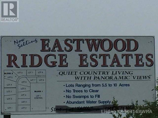 Home for sale at  Eastwood Rdge Est Unit Lot 8 Woodlands County Alberta - MLS: 50414