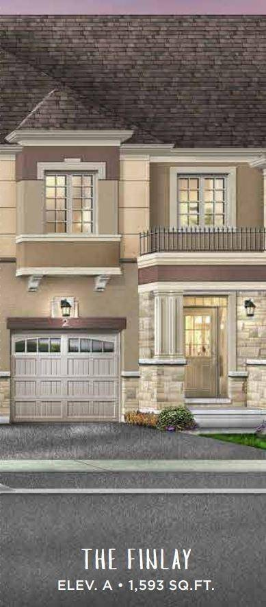 Townhouse for sale at 269 Garden Ave Unit Lot 84 Brantford Ontario - MLS: X4659826