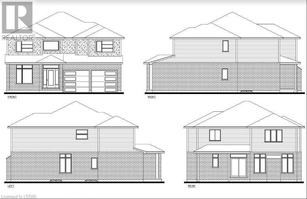 House for sale at  Bridgehaven Dr Unit Lot 84 London Ontario - MLS: 240763