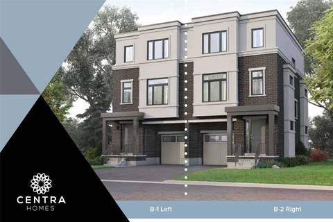 Townhouse for sale at 1715 Audubon Blvd Unit Lot 8R Mississauga Ontario - MLS: W4584490