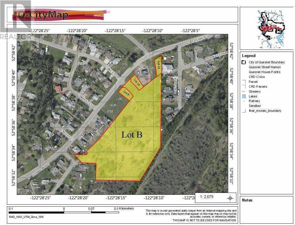 Home for sale at  Johnston Ave Unit Lot 9 Quesnel British Columbia - MLS: R2392683