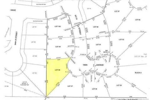 Residential property for sale at Lot 98 106 Ave Peace River Alberta - MLS: GP094124
