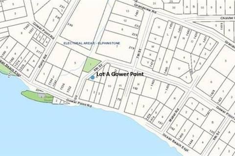 Residential property for sale at 0 Gower Point Rd Gibsons British Columbia - MLS: R2378476