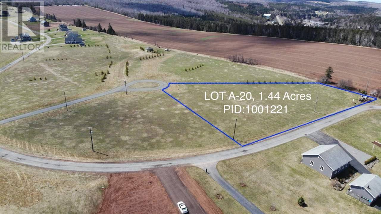 Residential property for sale at  Riverbend Ln Unit Lot A20 North Granville Prince Edward Island - MLS: 201810161