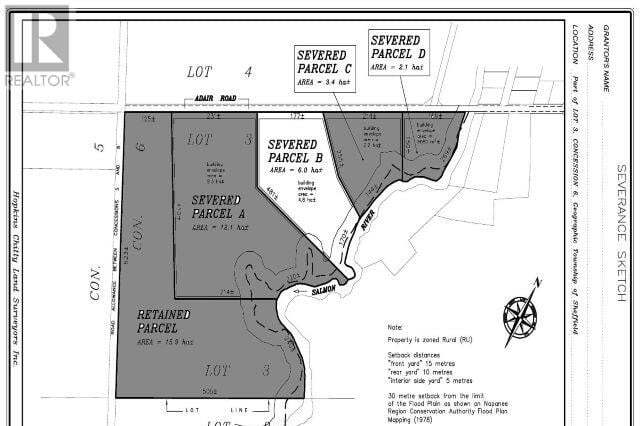 Home for sale at 0 Adair Road Rd Unit Lot B Stone Mills Ontario - MLS: K20003721