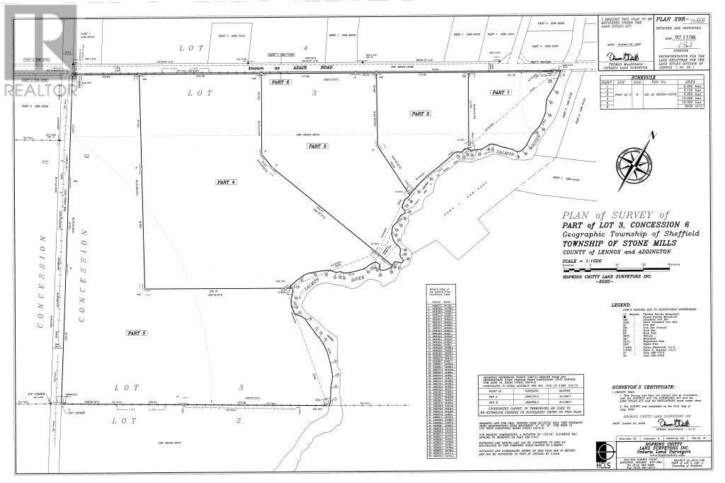 Home for sale at 0 Adair Road Rd Unit Lot C Stone Mills Ontario - MLS: K20003723a