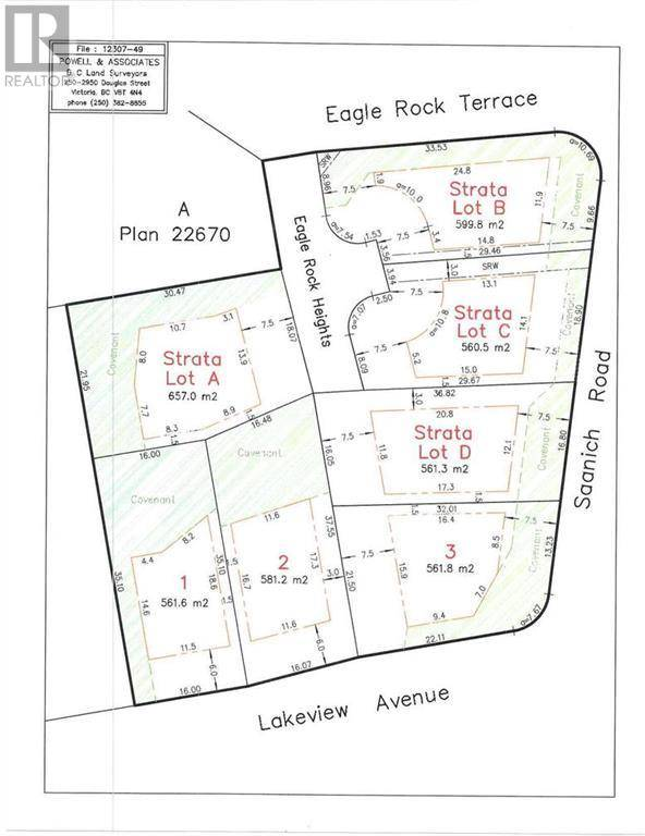 Residential property for sale at  Lot C Eagle Te Victoria British Columbia - MLS: 414596