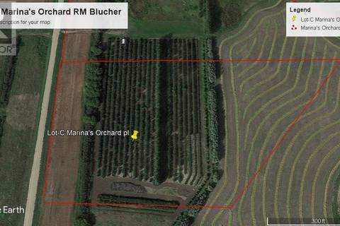 Residential property for sale at  Lot-c Pl. Rm Blucher Orchard Blucher Rm No. 343 Saskatchewan - MLS: SK767590