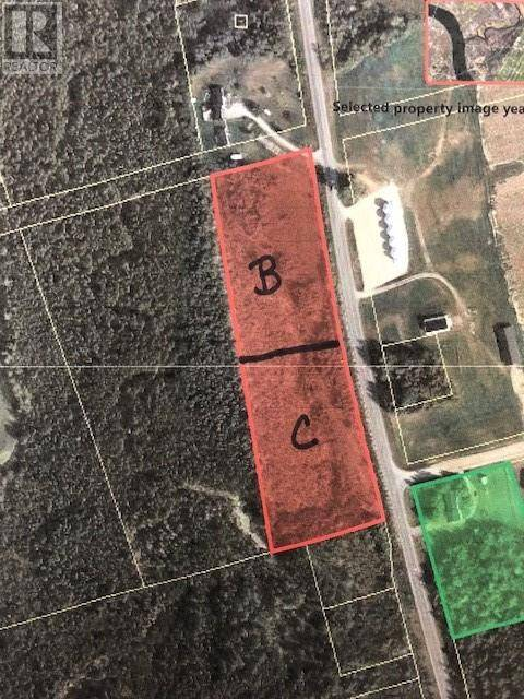 Residential property for sale at  Lot C Rte Williamstown New Brunswick - MLS: NB031127