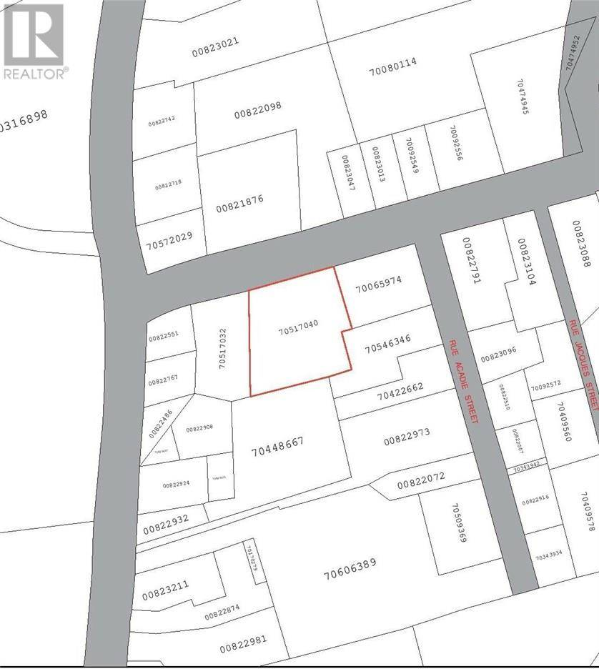 Residential property for sale at Lot Centrale & St Thomas  Memramcook New Brunswick - MLS: M126999
