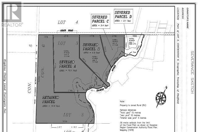Residential property for sale at 0 Adair Road Rd Unit LOT D Stone Mills Ontario - MLS: K20003724a