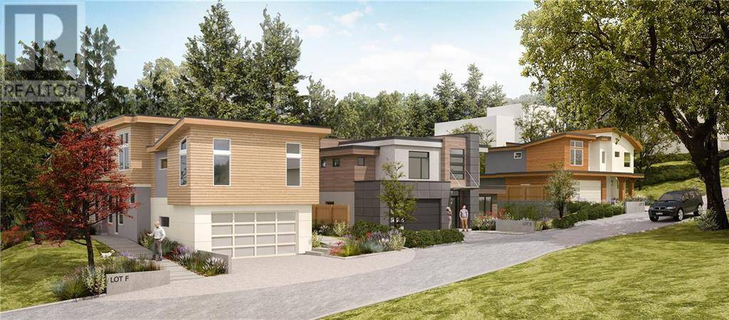 Residential property for sale at  Lot D Moss Pl Victoria British Columbia - MLS: 420815