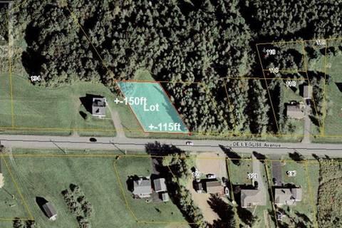 Home for sale at 0 De L'eglise  St. Antoine New Brunswick - MLS: M121055