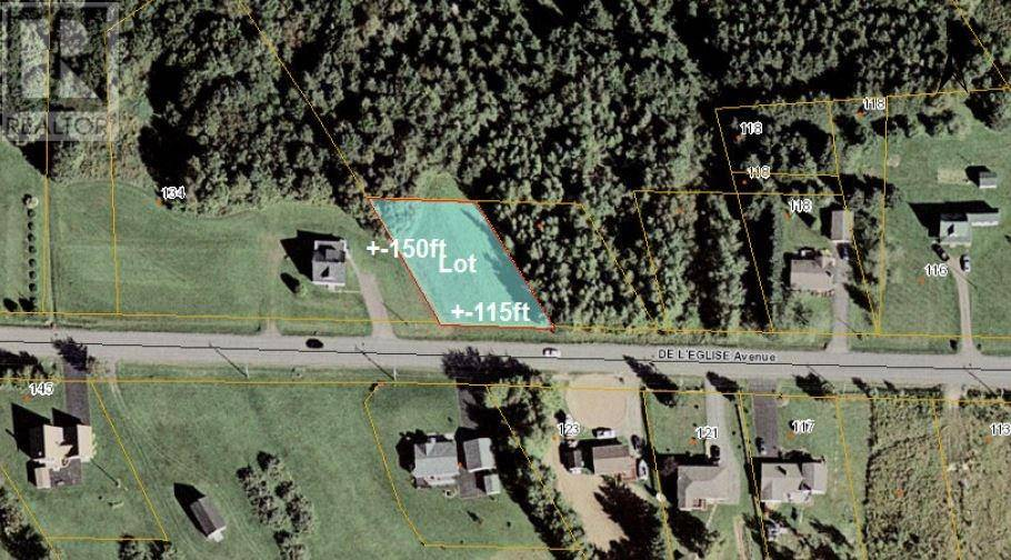 Residential property for sale at Lot De L'eglise  St. Antoine New Brunswick - MLS: M121055