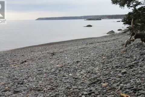 Residential property for sale at 0 Cove Rd Unit Lot G Dipper Harbour New Brunswick - MLS: SJ160147