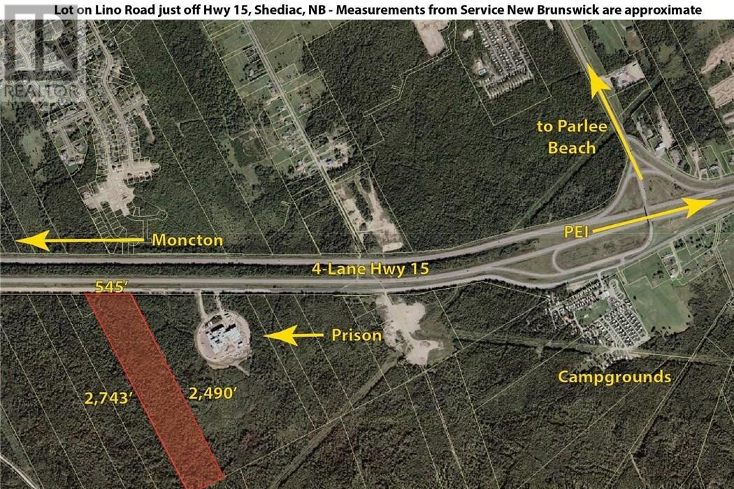 Residential property for sale at Lot Highway 15  Shediac New Brunswick - MLS: M128555