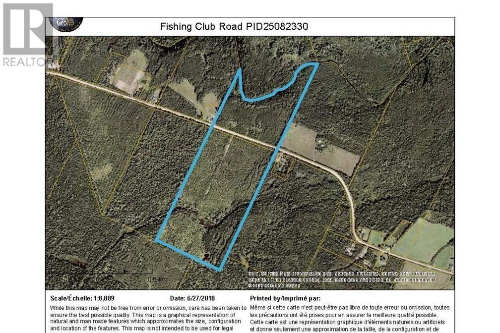 Home for sale at Lot Land Fishing Club Rd Bass River New Brunswick - MLS: M131721