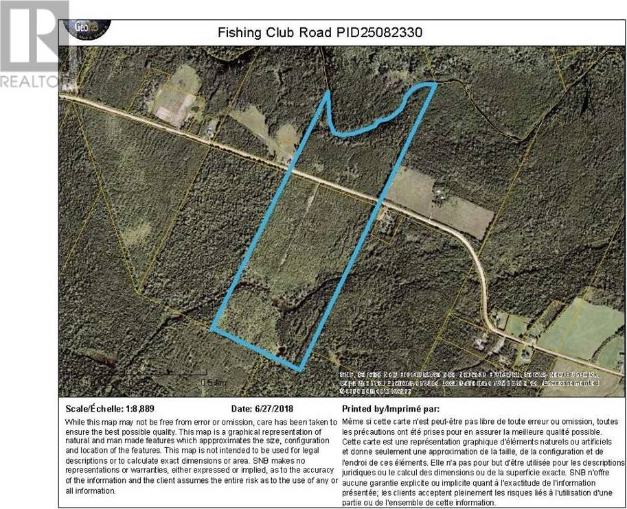 Residential property for sale at 0 Land Fishing Club Rd Bass River New Brunswick - MLS: M118289