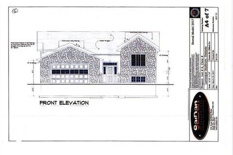 House for sale at  Lot Larocque  Val Caron Ontario - MLS: 2068919