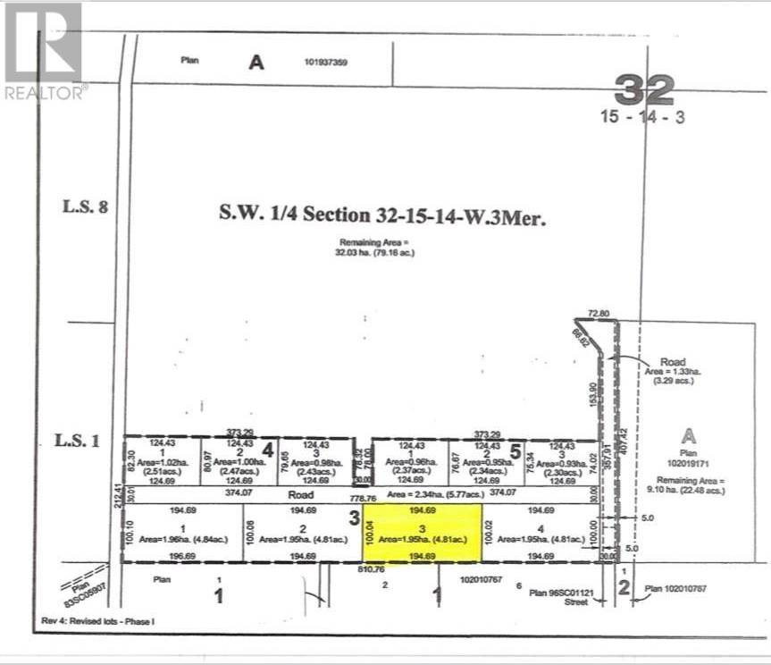 Lot Plan , Swift Current Rm No. 137 | Image 1