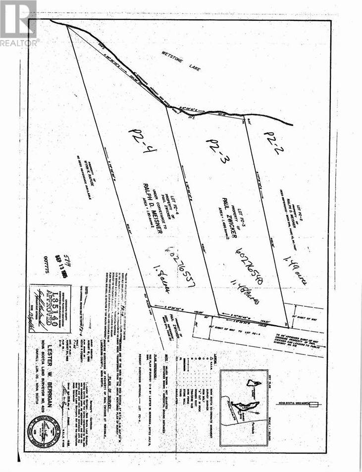 Residential property for sale at  Zwicker Dr Unit Lot Pz-2 Parkdale Nova Scotia - MLS: 201715078