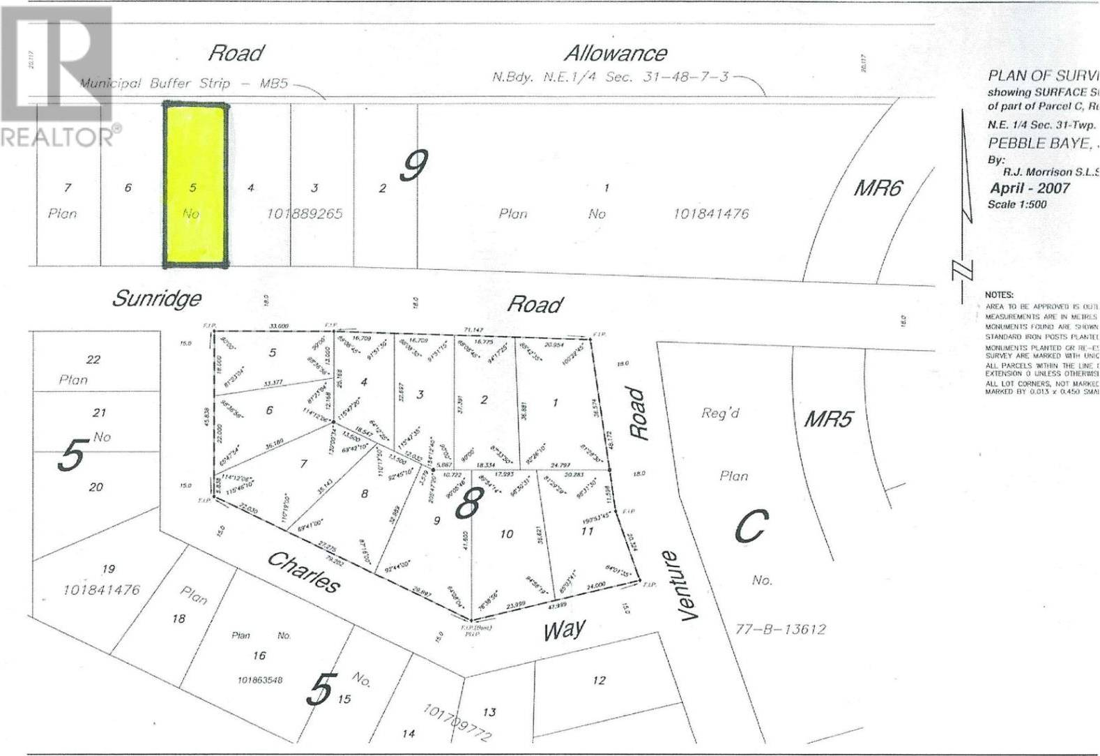 Lot-5 -  Lot Sunridge Road Pebble Baye , Iroquois Lake   Image 2