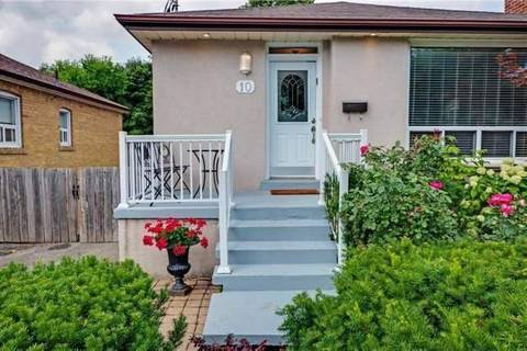 House for rent at 10 Collinson Blvd Unit Lower Toronto Ontario - MLS: C4724220