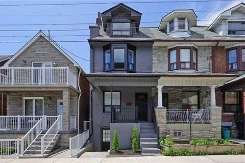 Townhouse for rent at 1182 Ossington Ave Unit Lower Toronto Ontario - MLS: C4421848