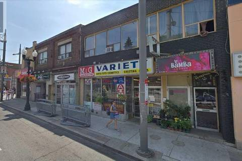 Commercial property for lease at 1355 St Clair Ave Apartment Lower Toronto Ontario - MLS: W4381015
