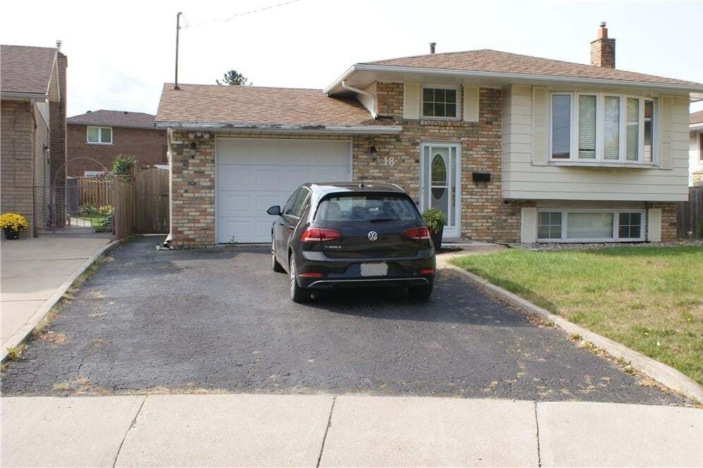 House for rent at 18 Crystal Ct Unit LOWER Hamilton Ontario - MLS: H4090207