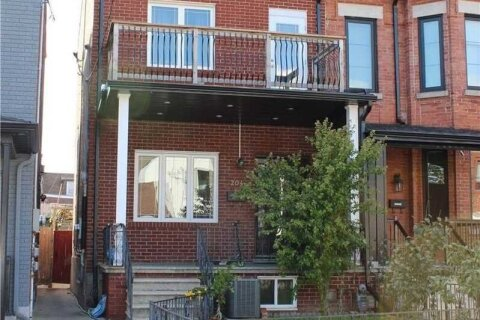 Townhouse for rent at 204 Bellwoods Ave Unit Lower Toronto Ontario - MLS: C5080550