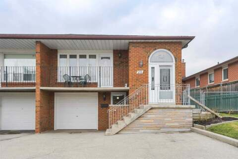 Townhouse for rent at 28 Hazelnut Cres Unit Lower Toronto Ontario - MLS: C4836764