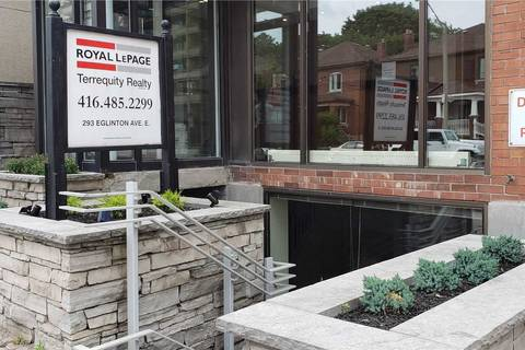 Commercial property for lease at 293 Eglinton Ave Apartment Lower Toronto Ontario - MLS: C4601406