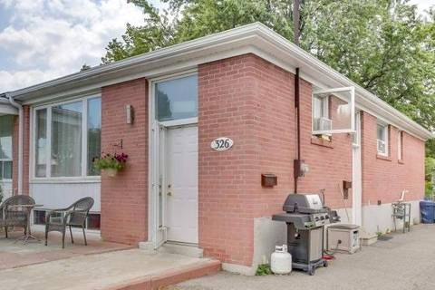Townhouse for rent at 326 Taylor Mills Dr Unit Lower Richmond Hill Ontario - MLS: N4657387