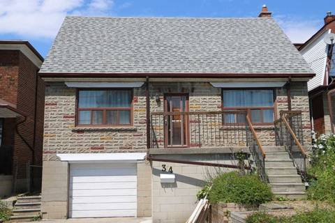 House for rent at 34 Butterworth Ave Unit Lower Toronto Ontario - MLS: E4547552