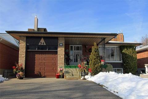 House for rent at 34 Vanguard Dr Unit Lower Toronto Ontario - MLS: W4694222