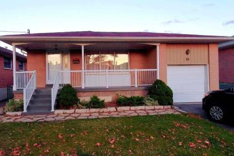 House for rent at 35 Kearney Dr Unit Lower Toronto Ontario - MLS: W4953908