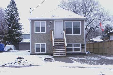 Townhouse for rent at 391 Oshawa Blvd Unit Lower Oshawa Ontario - MLS: E4659513