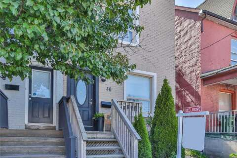 Townhouse for rent at 40 Carlaw Ave Unit Lower Toronto Ontario - MLS: E4875245
