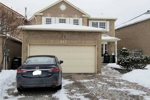 House for rent at 447 Port Royal Tr Unit Lower Toronto Ontario - MLS: E4698558