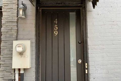 Townhouse for rent at 459 Queen St Unit Lower Toronto Ontario - MLS: C4629060